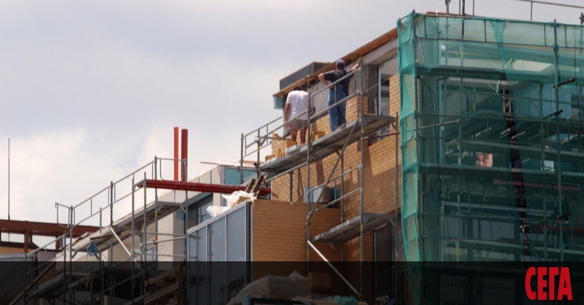 Жилищното строителство в страната през първото тримесечие на тази година