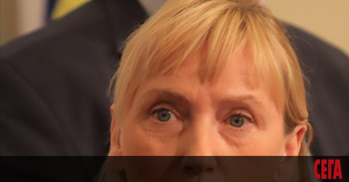 Снимка: Съдът прекрати делото за 1 млн. лв. срещу Елена Йончева