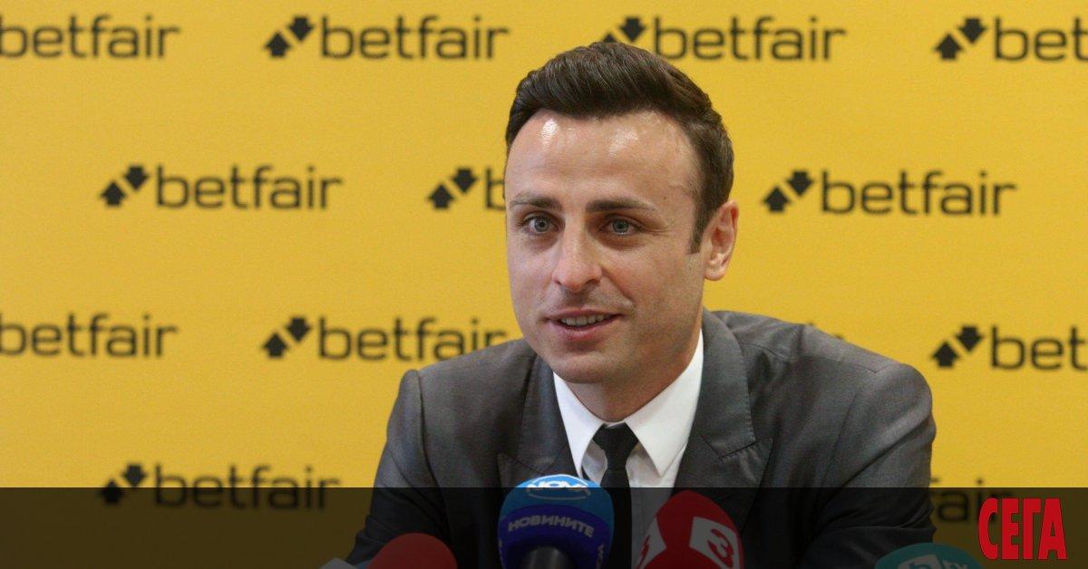 Димитър Бербатов ще се включи активно в предизборната кампания преди