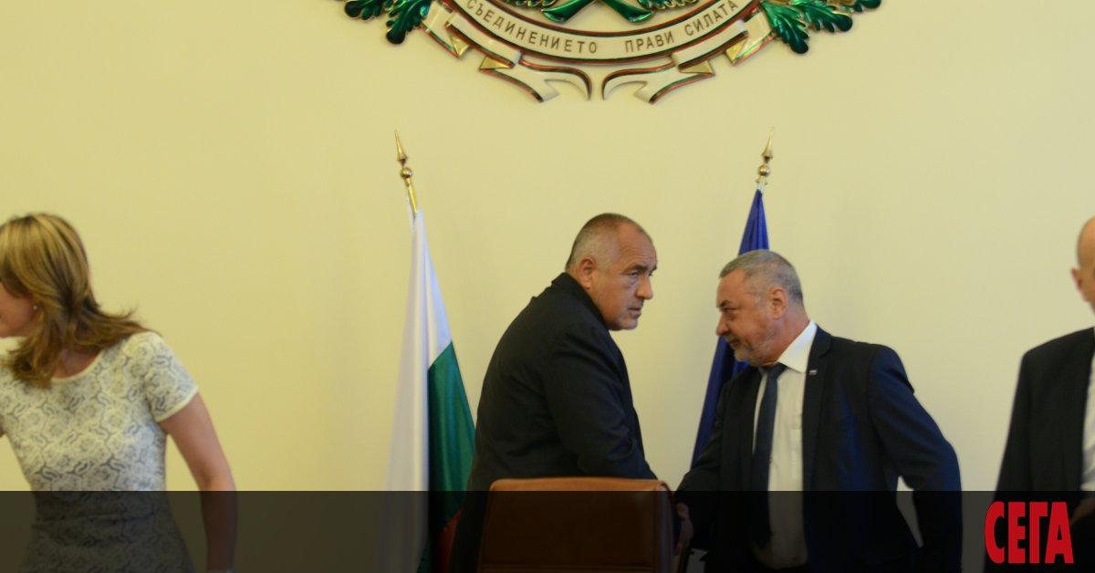 Премиерът и лидер на ГЕРБ Бойко Борисов лично е