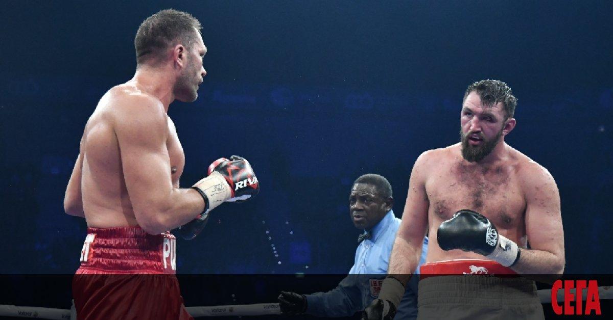 Кубрат Пулев обяви, че бившият световен шампион по бокс в