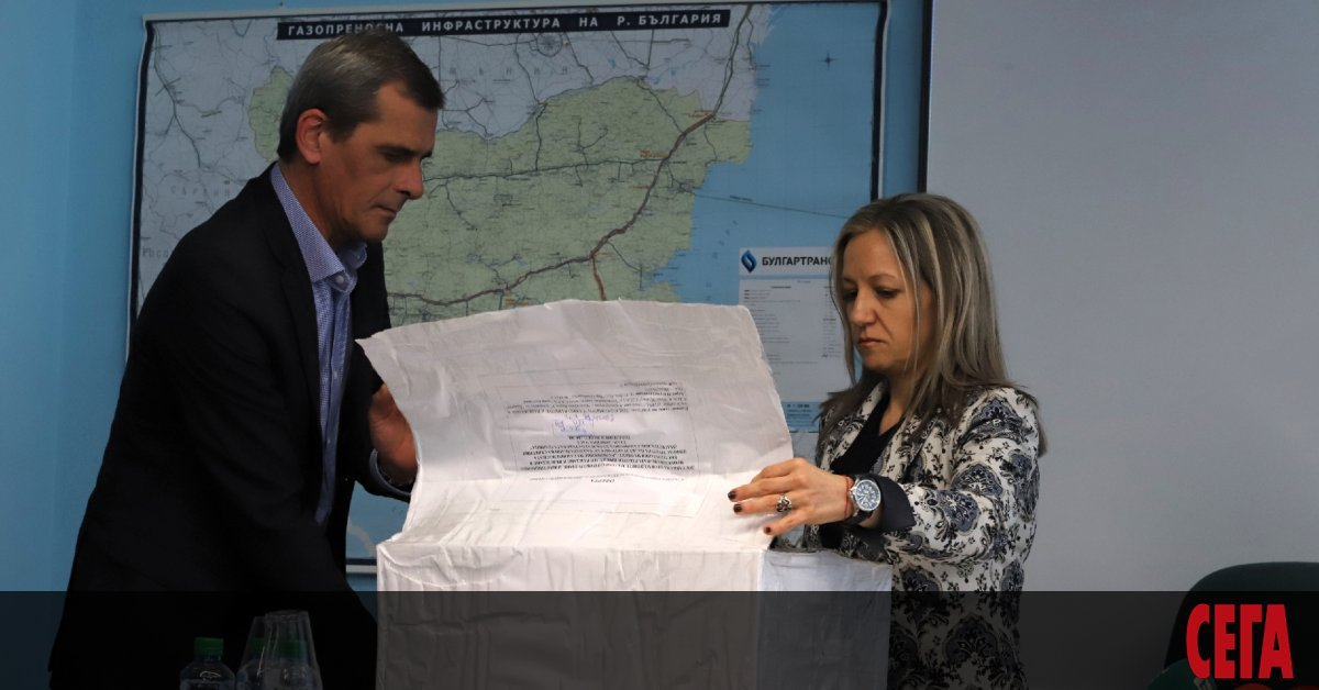 Строителството на българския участък от трасето на