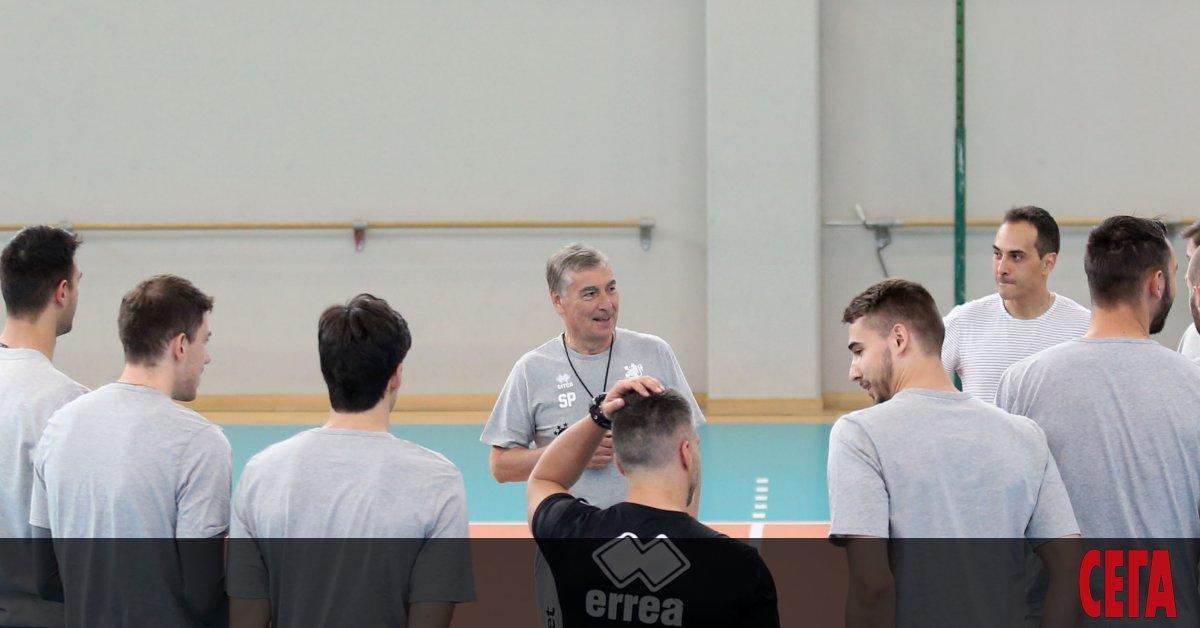 Звездата на националния отбор по волейбол Цветан Соколов се завърна