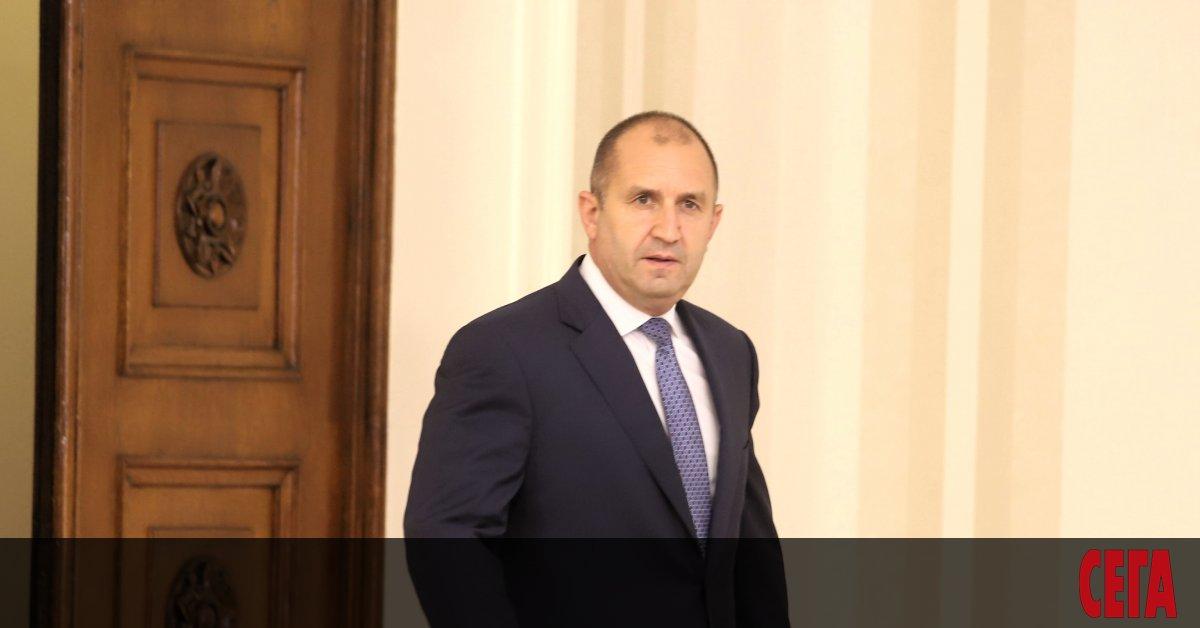 Президентът Румен Радев очаквано наложи вето върху приетите в средата