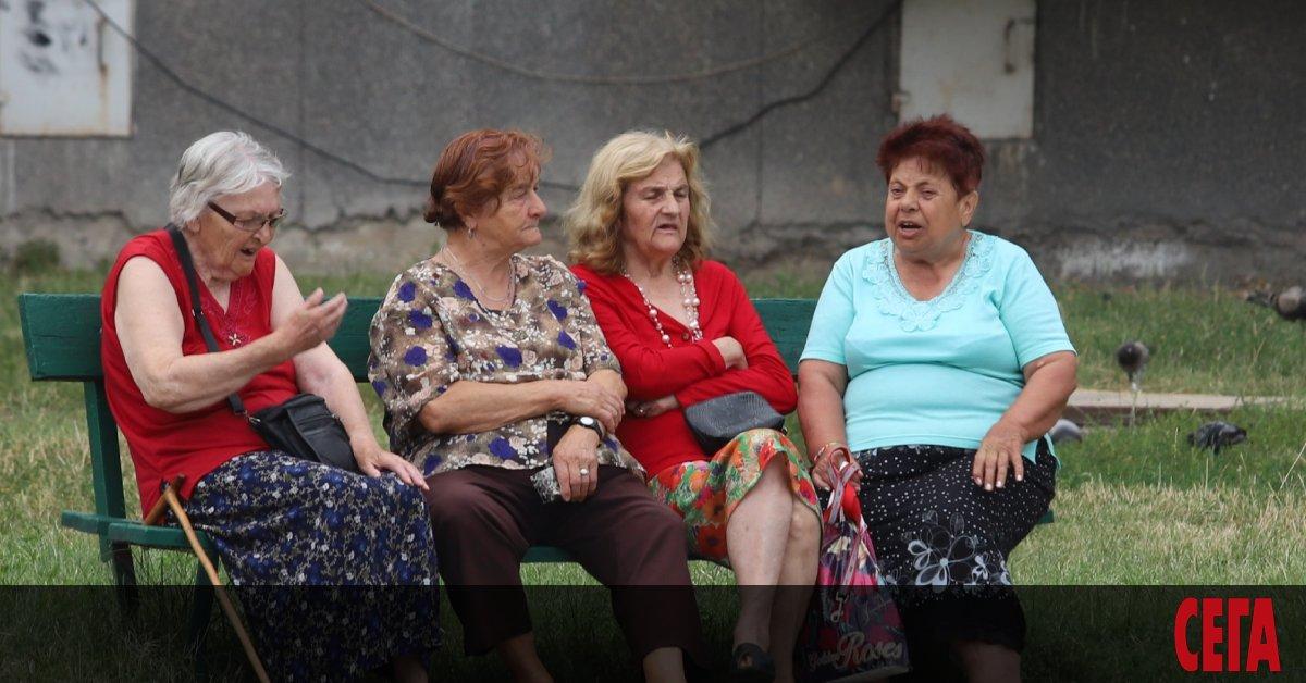 21 %от населението на България е на възраст над 65