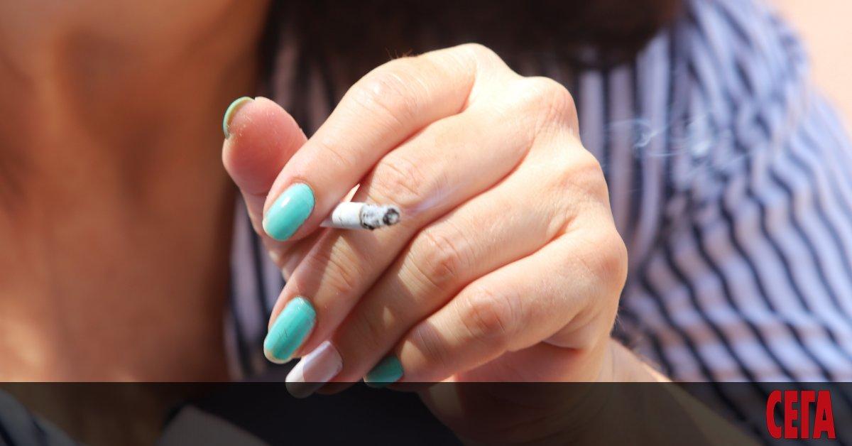 България е на първо място в Европа по тютюнопушене сред