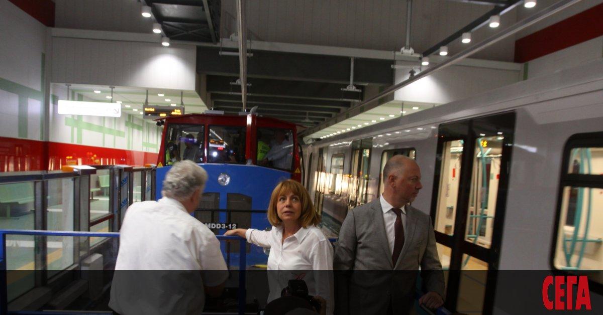 Сериозен спор дали първият лъч на софийското метро, който в