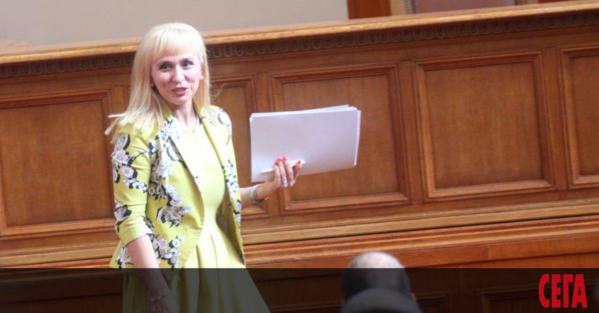 Омбудсманът Диана Ковачева разкритикува предложения от Комисията за финансов контрол