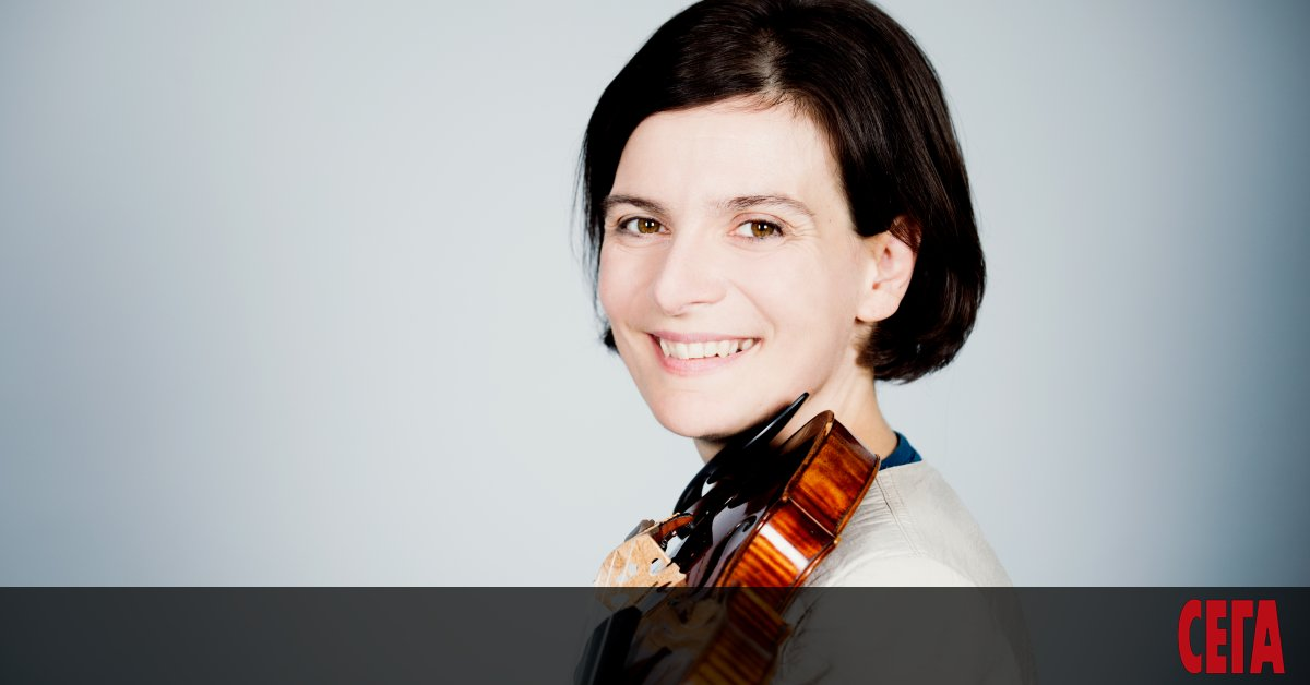 Българската цигуларка Албена Данаилова - първата жена концертмайстор в над
