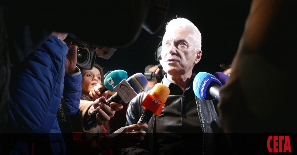 Волен Сидеров даде ясен знак, че неговата партия няма да