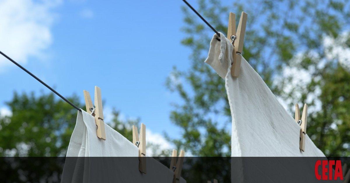 Днешните енергийно ефективни перални машини може би не елиминират бактериите