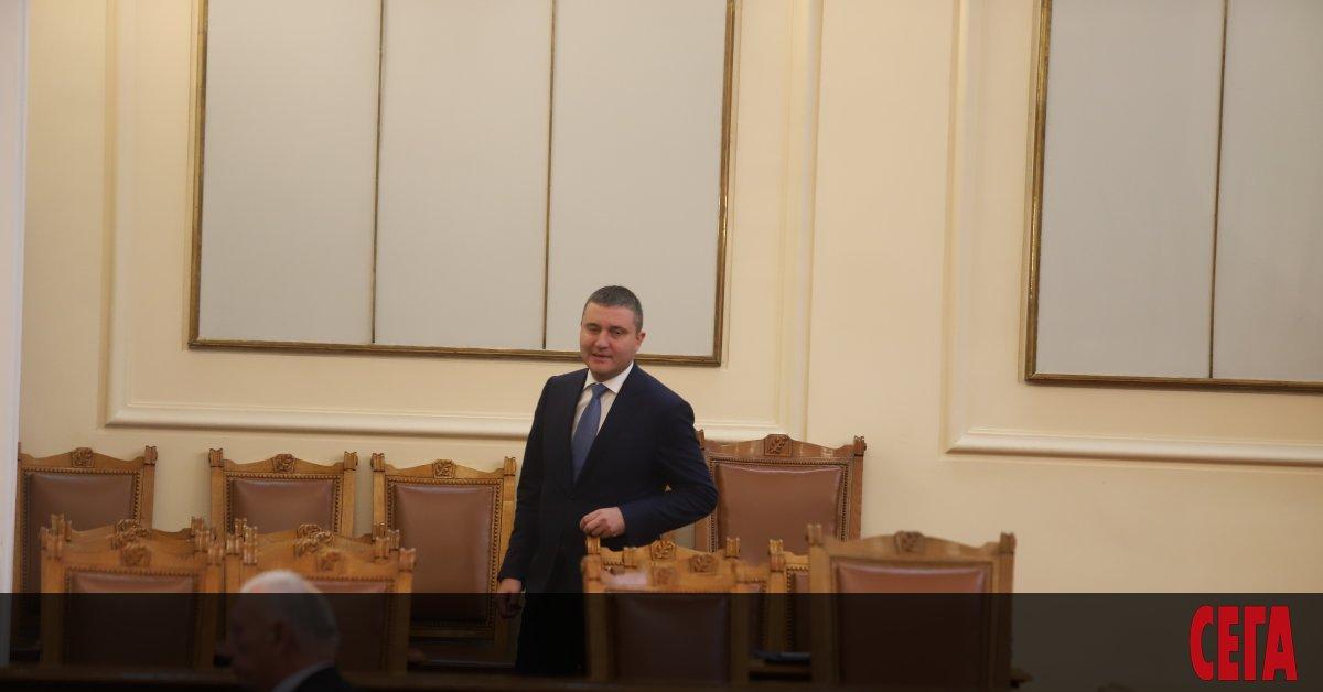 Снимка: Горанов посъветва общините да въведат подоходен данък