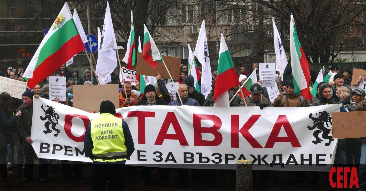 Протестиращите заради водната криза в Перник се опитахада влязат в