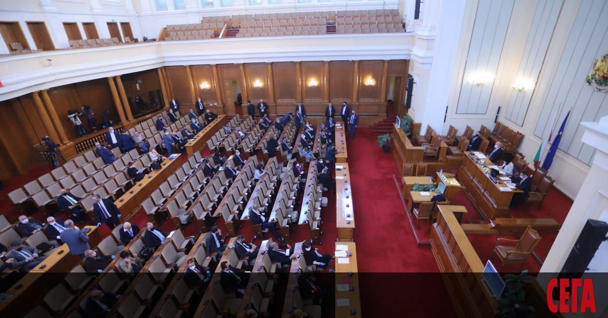 Народното събрание одобри за трети път поправки в своя правилник,