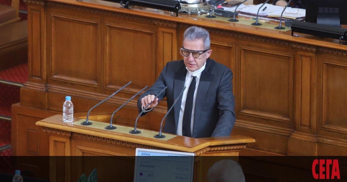 Управляващите от ГЕРБ подкрепиха депутата от ДПС Йордан Цонев за