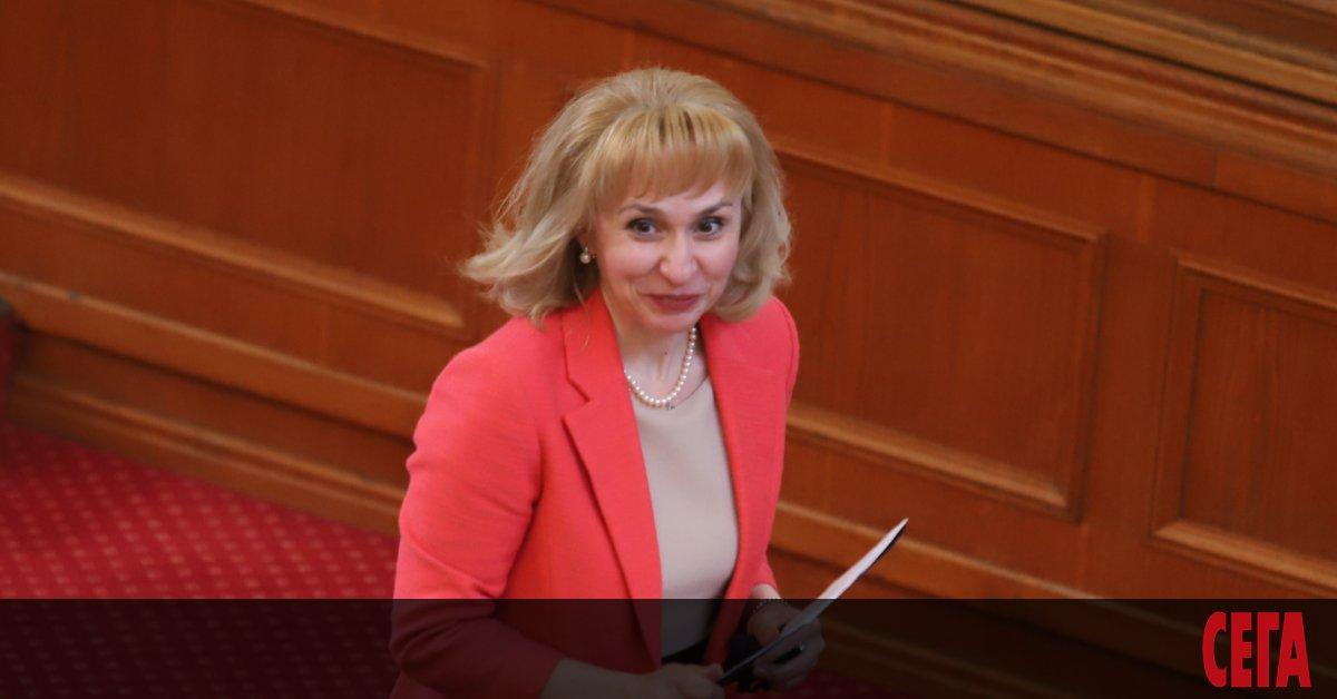 Националният обществен защитник Диана Ковачева настоява вътрешният министър Младен Маринов