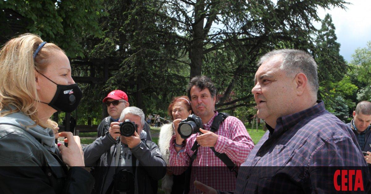 Председателят на Българския олимпийски комитет (БОК) Стефка Костадинова за пръв