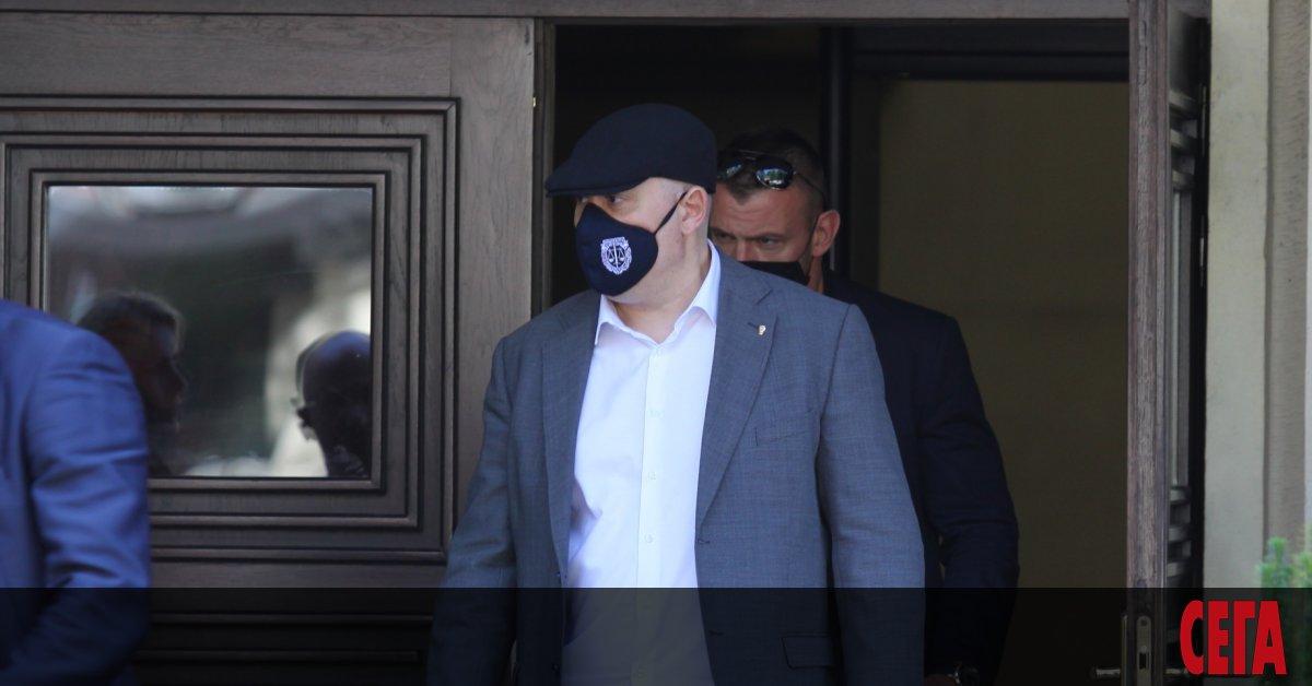 Бюрото за защита при главния прокурор, чиито служители охраняватИван Гешев
