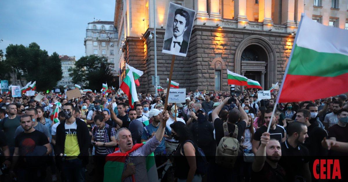 Днешните граждански демонстрации вероятно ще са най-мащабните. Една от причината
