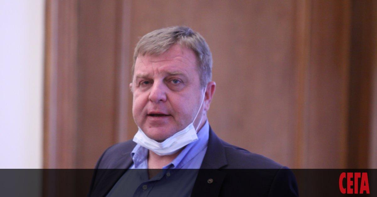 Вицепремиерът и министър на отбраната в правителството на ГЕРБ Красимир