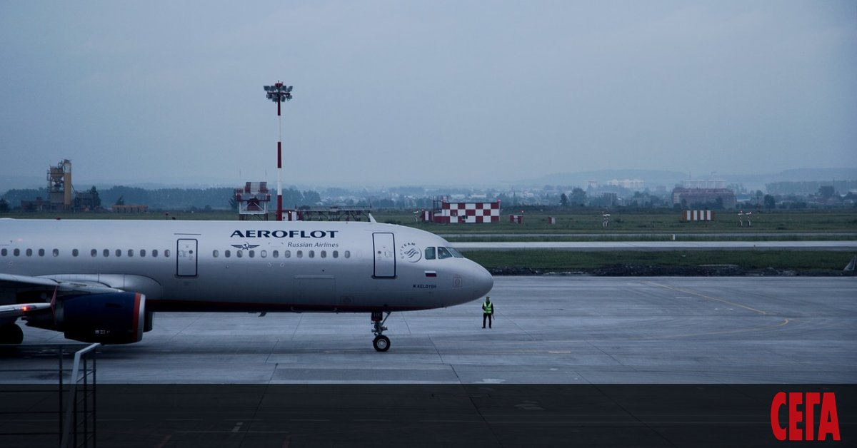 """Руският превозвач """"Аерофлот"""" обяви, че отменя голям брой редовни международни"""