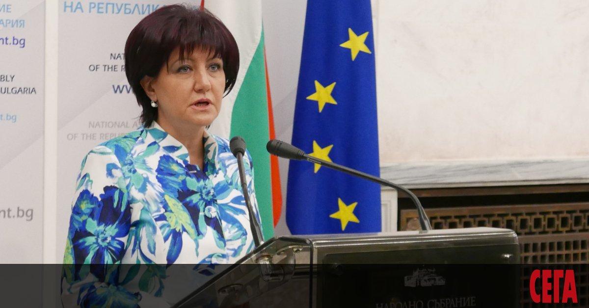 Бившата шефка на Народното събрание Цвета Караянчева, която не успя
