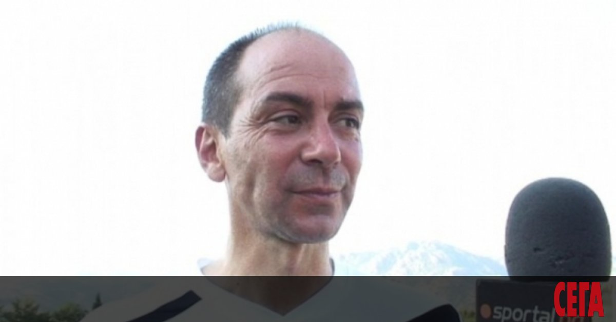 Бившият национал Ивайло Андонов, който от 19 години е собственик