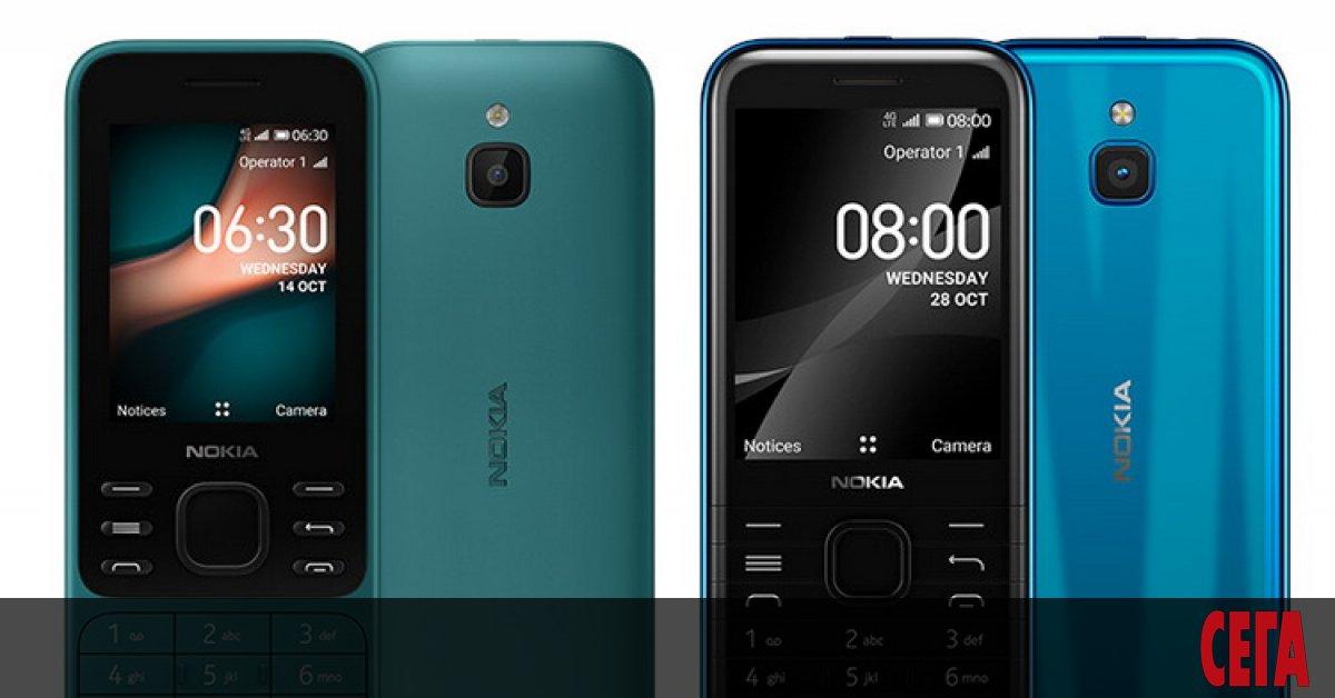 Nokia връща на пазара два легендарни телефона от началото на