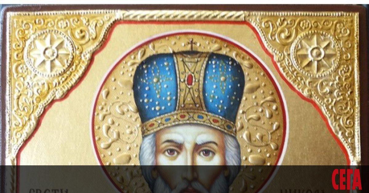 На 6 декември е денят на Св. Николай Мирликийски Чудотворец