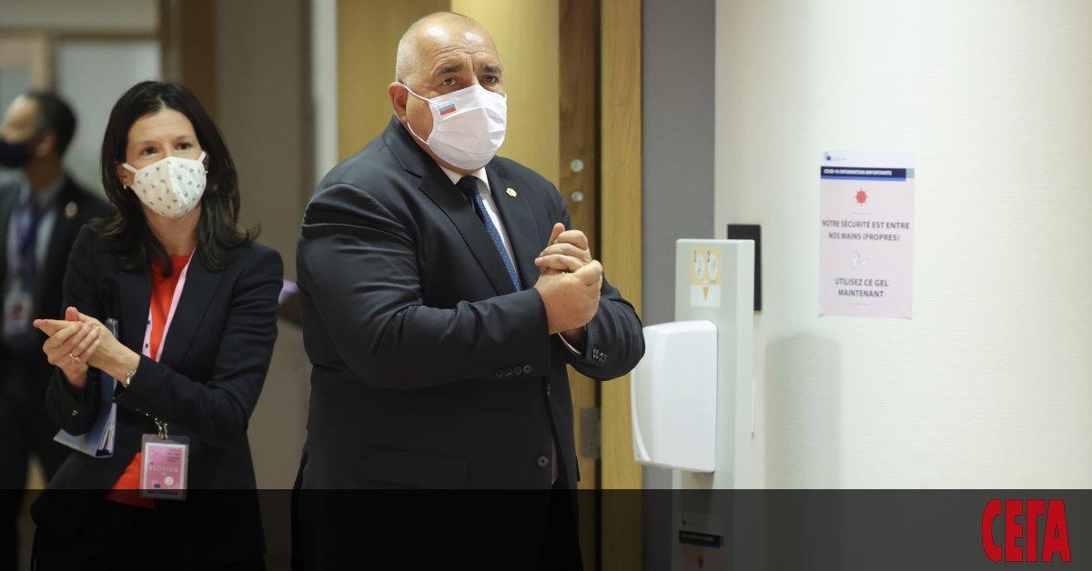 Премиерът Бойко Борисов заяви днес в Брюксел, че България ще