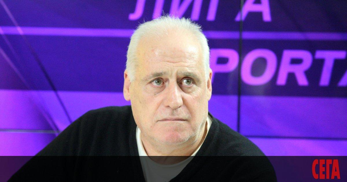 Бившият капитан на националния отбор по футбол Георги Димитров изрази