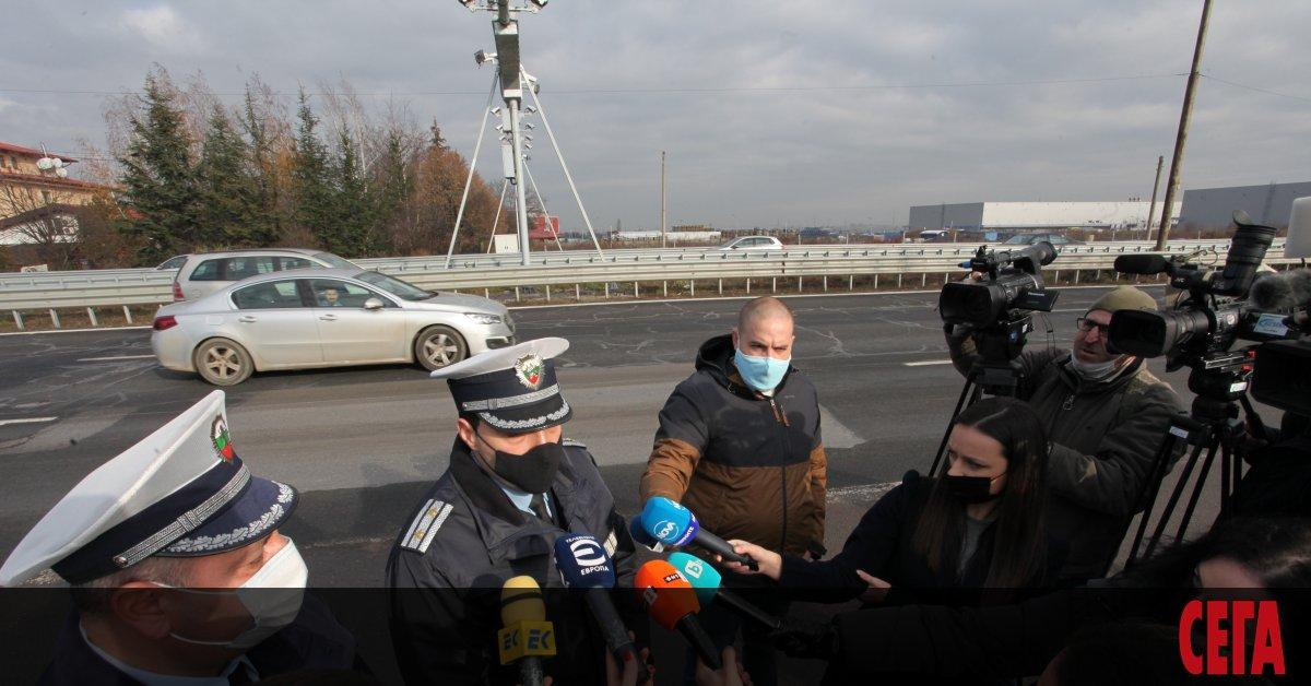 """Ремонтните дейности по магистрала """"Тракия"""" между 184-ти и 208-и км"""