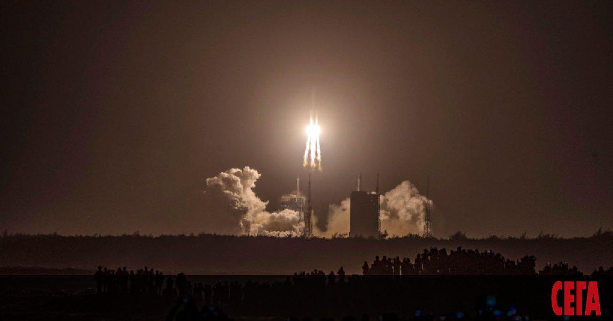 Китайският спускаем модул на космическия апарат