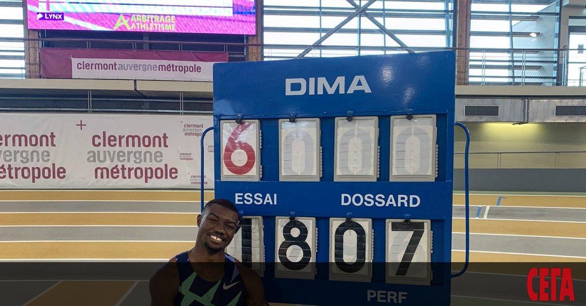 Бронзовият медалист от световното първенство в Доха`19 Юг Фабрис Занго