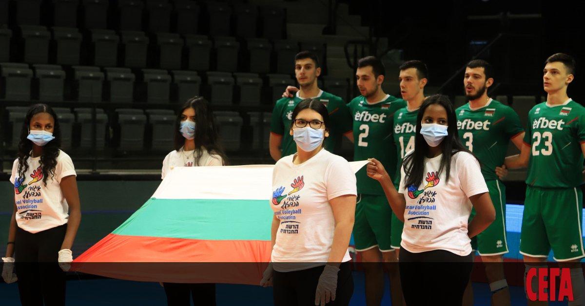 Българският национален отбор по волейбол изпълни безупречно задачата си и