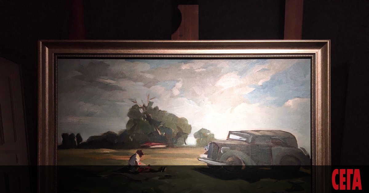 """Изложба, озаглавена """"Никола Танев на път"""" в Националната галерия отвори"""