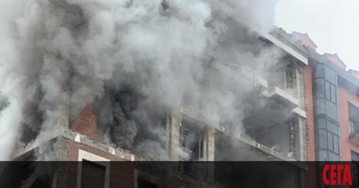 Силна експлозия унищожи осеметажна сграда в Мадрид, предаде La Sexta