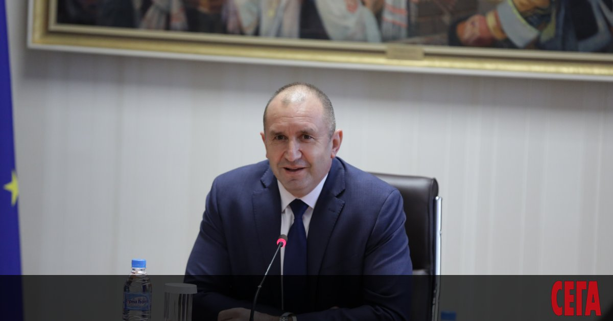 Президентът Румен Радев разговаря днес по телефонас държавния секретар на