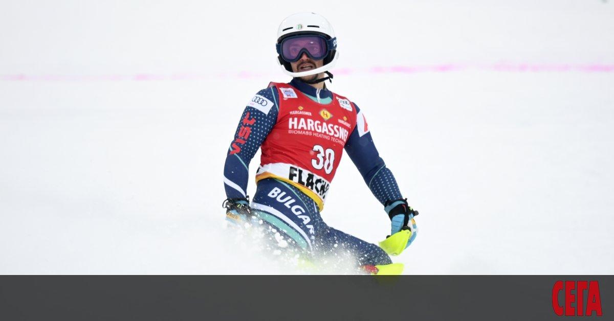 Най-добрият български състезател в алпийските ски - Алберт Попов, затвърди