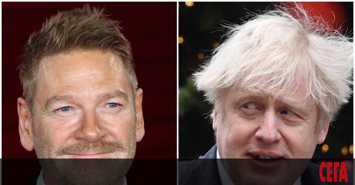Кенет Брана ще изиграе действащия министър-председател на Великобритания Борис Джонсън