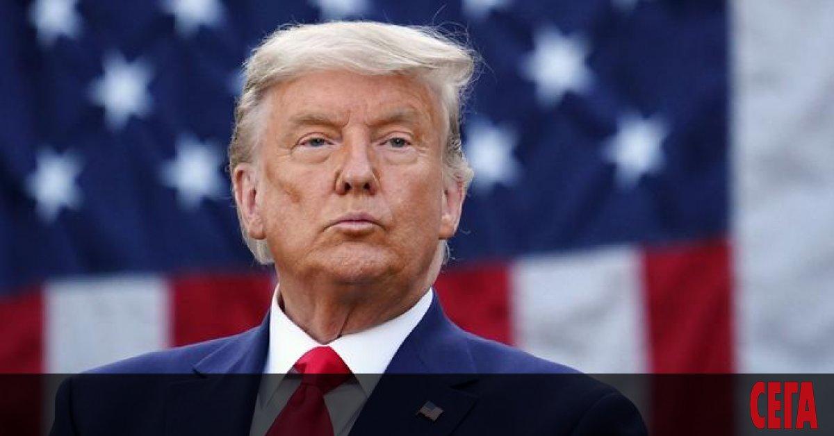 Американският президент Доналд Тръмп одобри въвеждането на извънредно положение във