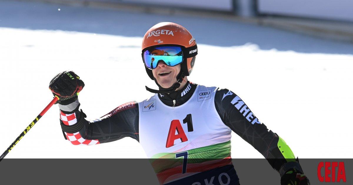 Единственият български представител във веригата за Световната купа по ски