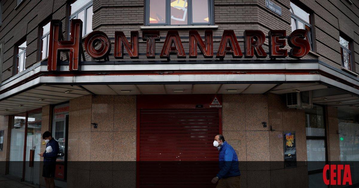 Испания, която е сред най-силно засегнатите от пандемията от коронавирус