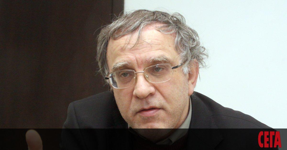 Социологът Цветозар Томов и общинският съветник в София и математикътЛюбомир