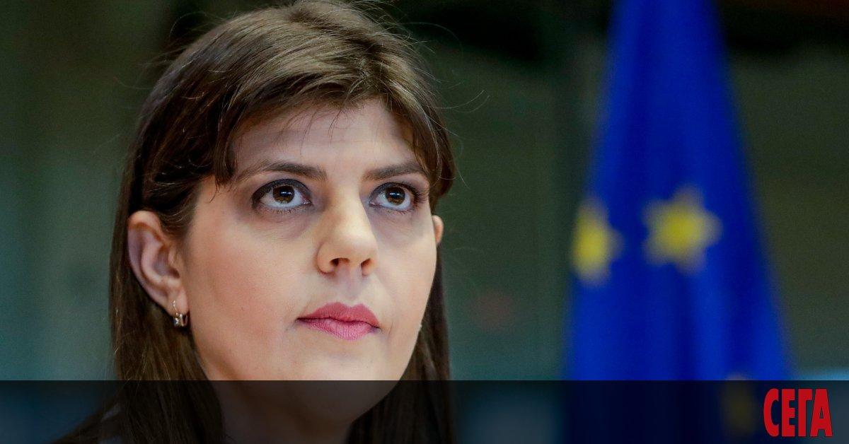 Европейският главен прокурор Лаура Кьовеши е отхвърлила 7 от десетте