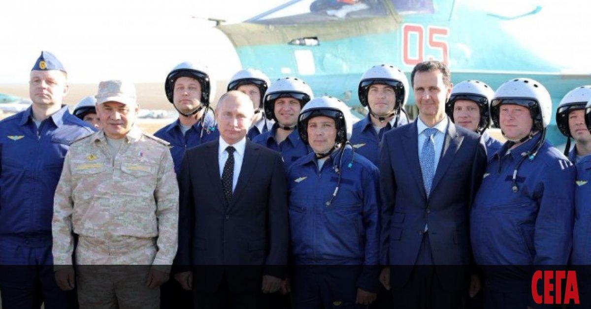 Сирийският новинарски порталZaman Al-Wasl съобщи,че руската армия в Сирия се