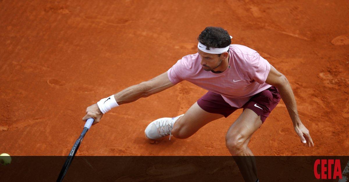 Световният №17 в тениса Григор Димитров започна с убедителна победа