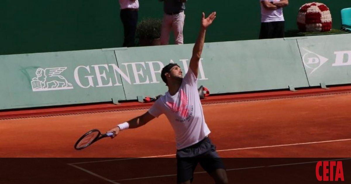 Григор Димитров ще се изправи срещу втория най-добър тенисист в