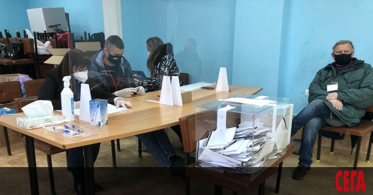Централната избирателна комисия (ЦИК) прие решение, с което определи местата