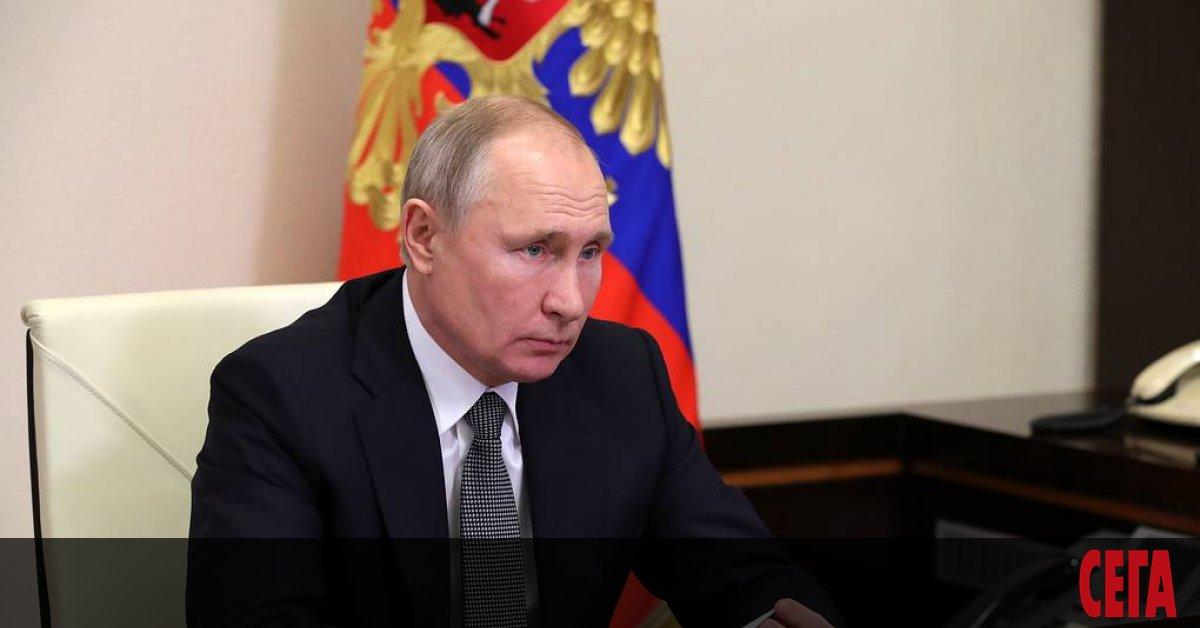Руският президент Владимир Путин подписа закон, който му дава право